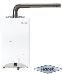 calentadores de paso a gas